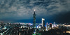 _MG_3334_全景1 (waychen_C) Tags: taipei xinyi xinyidistrict cityscape nightview skyline taipei101 台北 信義 信義區 東區 台北101