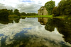 Reflection Pond (Tony Shertila) Tags: disley england gbr geo:lat=5333812556 geo:lon=205499395 geotagged lymehandley europe britain cheshirelyme nationaltrust manor 20150926142434 reflection water lake outdoor estate mansion sky clouds architecture neoclassical palladium tree unitedkingdom