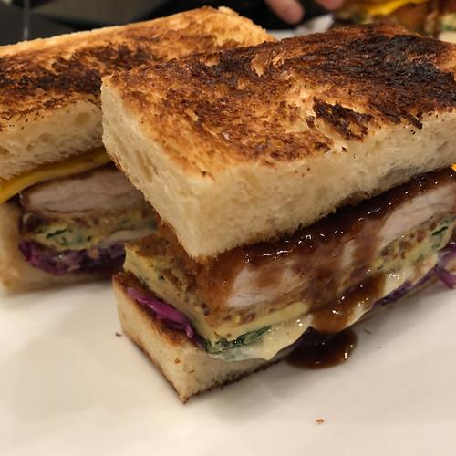 Tonkatsu sandwich at Abri
