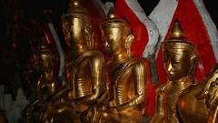 Pindaya Caves (Luc1659) Tags: myanmar buddha grotte oro statue birmania gold statues