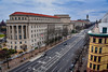Federal Trade Commission building and Pennsylvania Avenue viewed from The Newseum - Washington DC (mbell1975) Tags: washington districtofcolumbia unitedstates us federal trade commission building pennsylvania avenue viewed from the newseum dc washingtondc usa america american fcc