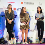 Simona Halep, Maria Sharapova, Jelena Ostapenko, Zhang Shuai, Qiang Wang