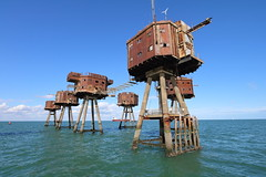Red Sands Sea Forts (scrappy nw) Tags: redsandsseaforts abandoned scrappynw scrappy derelict decay forgotten canon canon750d military army riverthames river estuary sea water war ww2 urbex ue urbanexploration urbanexploring uk northsea