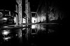 Underpass (AlphaAndi) Tags: mono monochrome urban city trier tiefenschärfe wow wasser waterdrops regentropfen rain rainy dof fullframe vollformat sony streets streetshots streetshooting