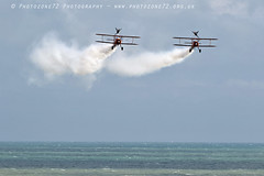 3429 Wingwalkers (photozone72) Tags: eastbourne airshows aircraft airshow aviation breitlingwingwalkers breitling wingwalkers boeing stearman biplane canon canon7dmk2 canon100400f4556lii 7dmk2