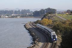 532 - Pinole (imartin92) Tags: pinole california amtrak passenger train capitolcorridor railroad siemens sc44 charger locomotive