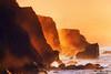 Inferno (Mimadeo) Tags: coast cliff rock sea mist ocean coastline nature fog waves misty water sunset splash wave sunlight coastal rough spray cliffs hazy foggy evening bermeo gaztelugatxe basquecountry vizcaya spain euskadi paisvasco