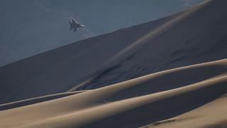 Jet and Dunes