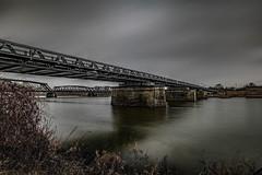 DSC07180 (karstenlützen) Tags: germany brandenburg oderland oderbruch küstrinervorland bridge border poland oder longtimeexposure landsape sigma1020f35 ilca77m2