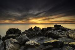 Sunrise on my beach (Massetti Fabrizio) Tags: sunrise sun sunlight sunset sea seascape clouds color nikond4s 2470f28 landscape landscapes light lee marche casabianca fabriziomassetti famasse