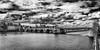 view to Maastricht centre -2- (MAICN) Tags: vhs maastricht brücke water mono cityscape sw clouds wolken wasser bw 2017 blackwhite monochrome river himmel maas bridge sky schwarzweis einfarbig architektur fotoclub fluss