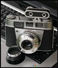 Kodak Retinette IB (Type 037) (radspix) Tags: kodak retinette ib type 037 with prazisa rangefinder canon 5d 55mm fujinon f18