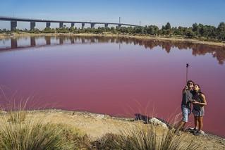 Port Melbourne - Pink Lake at Westgate Park