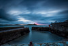 Colimore Harbour sunrise (Minibert93) Tags: longexposure harbour eastcoast sky seascape chain rusty island pier ocean clouds dalkeyisland dublin ireland