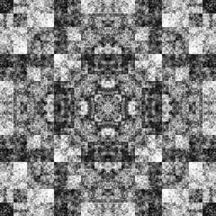 1808208596 (michaelpeditto) Tags: art symmetry carpet tile design geometry computer generated black white pattern