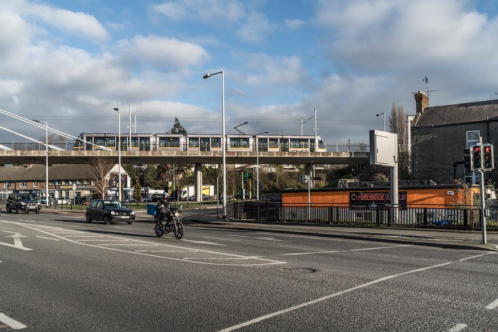 THE WILLIAM DARGAN BRIDGE IN DUNDRUM [LUAS GREEN LINE TRAM STOP DUNDRUM]-135146