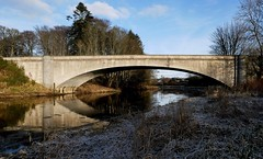 Don Bridge, Kemnay, Aberdeenshire (aberdeen granite) Tags: kemnay scotland granite civil engineering concrete aberdeenshire river don