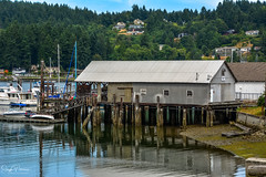 BUJACICH NET SHED - Gig Harbor (SonjaPetersonPh♡tography ♡ Merry Christmas!) Tags: gigharbor pugetsound tacoma seattle olympicpenninsula washington washingtonstate stateofwashington nikon nikond5200 historicbuildings historicsite historicwaterfront harbor watefront comercialfishing boats boutiques shops finedining restaurants touristdestination pierceciunty usa oldbuildings