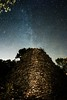 Pyramide de tourves (labeanch) Tags: pyramide tourves sony stars etoiles voielactée nuit night lightpainting light var longueexposition galaxie andromède