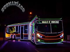 7 2268 Viação Campo Belo (busManíaCo) Tags: caio millennium brt 2017 articulado mercedesbenz o500uda bluetec 5 viaçãocampobelo christmas bus