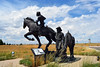 Sculptures - National Historic Trails Interpretive Center (BLM_Wyoming) Tags: statue interpretive nhtic