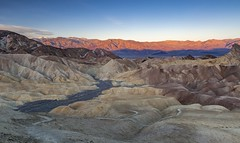 *Zabriskie Point @ Sunrise* (Albert Wirtz @ Landscape and Nature Photography) Tags: zabriskiepoint panamintrange badwater deathvalley usa unitedstates america nordamerika vereinigtestaaten california kalifornien badlands erosion sunrise canyon goldencanyon mountain landscape paesaggi paysages albertwirtz hiking trail goldencanyontrail wandern wanderlust goldenhour goldenstunde deathvalleynationalpark nationalpark goldencanyontozabriskietrail alpenglow furnacecreek sr190 borax lakemanly u2 movieset southwest usasouthwest usawest wildwest ngc dvnp globalphotography