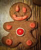 Don't push the big red button (raddad! aka Randy Knauf) Tags: randyknauf raddad6735212 raddad raddad4114 randy knauf gingerbreadman gingerbread gingerbreadmen christmas christmascookies hickory hickorynorthcarolina family cookieschristmasknauf