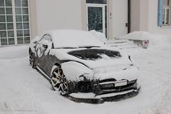 Hidden F-Type SVR (Nico K. Photography) Tags: jaguar ftype coupé svr snow supercars nicokphotography switzerland stmoritz
