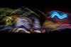 christmas tree lane in motion ll (pbo31) Tags: eastbay alamedacounty night december winter 2017 color dark black boury pbo31 nikon d810 bayarea alameda lightstream motion holidays christmas season christmastree motionblur fernside