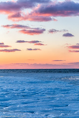 Frozen Sunset at Rock Harbor (Samantha Decker) Tags: canonef24105mmf4lisusm canoneos6d capecod ma massachusetts newengland orleans outercape samanthadecker sunset