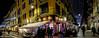 Happy hour at the Bar Brera (Gian Floridia) Tags: barbrera brera milano viafiorichiari xmaslights angolo corner happyhour lights luminarie notturno street streetphotography viabrera lombardia italy it