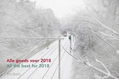 Alle goeds voor 2018 (Tim Boric) Tags: nieuwjaarswens newyear wish sneeuw snow trein train 2018