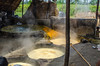 Vats for sugarcane processing (Pejasar) Tags: family business sugarcane processing neardelhi india vats stove huge boil hot steam sugar