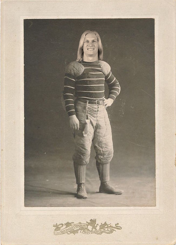 During the offseason, Carolina Panthers receiver Brenton Bersin finally completed work on his time machine. Somewhere, in an alternate universe, he's currently a huge star for the 1903 Canton Bulldogs.