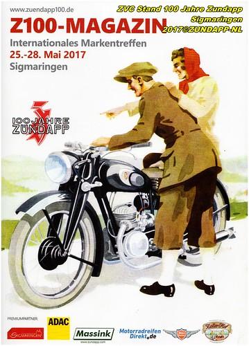 ZVC Club stand 100 Jahre Zundapp Sigmaringen 2017
