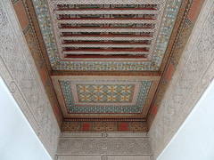 A palace out of 1001 nights (Shahrazad26) Tags: marrakech marokko maroc morocco plafond ceiling bahiapalace architectuur architecture
