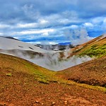 Republic of Iceland ~ Waiting for the Geyser to Perform thumbnail