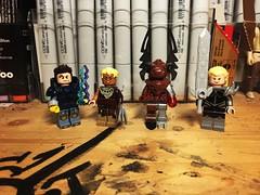 A Mixed bag (Lord Allo) Tags: lego dc marvel id doom xmen batman electrocutioner copperhead arkham origins cyberdemon magik new mutants