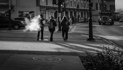 49 (munn1) Tags: 20171209lafargelake lightroomcc streetphotography contrast fujifilm x100f smoke vaping canada coquitlam britishcolumbia acros blackandwhite week492017 52weeksthe2017edition weekstartingsundaydecember32017