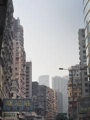 Drawn In (wawrus) Tags: kowloon hongkong hk 香港 九龍 油麻地 sky city asia buildings skyscrapers street old urban a7rii sony leica summicron 50mm nik jordan 佐敦 s k y skyscraper building road architecture grunge sunday photowalk darkside 期尼威