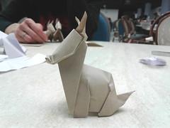 Asinello - Federico Scalambra (Stefano Borroni (Stia)) Tags: origami piegarelacarta carta paper folding origamilove papiroflexia origamicdo2017 natura animali asino asinello donkey burro lâne esel åsna azenon arte favoledicarta