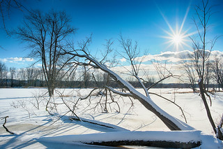 Winter HDR Landscape