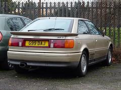 1989 Audi Coupé 2.2 E (Neil's classics) Tags: vehicle 1989 audi coupé 22e 2226cc