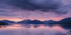 Sunset over Kingairloch and Loch Linnhe (Chris_Hoskins) Tags: sunrise scottishlandscape wwwexpressionsofscotlandcom scottishlandscapephotography landscape lochaber scotland glencoe