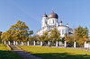 The Cathedral of the Archangel Michael in Oranienbaum. (g_reg_walker) Tags: oranienbaum architecture cathedral archangel michael church beautiful magnificent historical sunny religion cross dome russia saint petersburg autumn sky blue clear travel sights sightseeing perspective