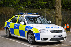 KX55 NXF (S11 AUN) Tags: northamptonshire northants police ford mondeo st driver training driving school advanced pursuit tpac anpr traffic car rpu policing unit 999 emergency vehicle kx55nxf