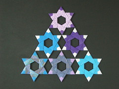 Joyeux Noël ! (Mélisande*) Tags: mélisande origami star carmensprung