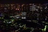 Chuo (jernejb) Tags: night lightshow city skyscraper skyline observationdeck carettashiodome higashishinbashi minato tokyo japan d750