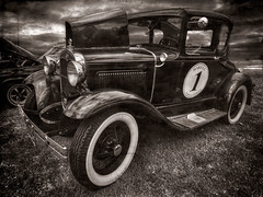 Old School Racer (Thunder1203) Tags: canon carshows classiccars customcars ford hdr harleydavidson hotrods lightroom luminar ononephotoraw photomatix pickup topaz aurorahdr photoshop ute