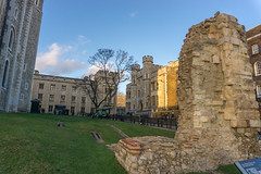 Tower of London - Roman Walls, London (antonskrobotov) Tags: england london greatbritain romanempire ancient